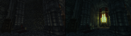 Helmet of Secrets reveals concealed area (D2 FoV armor quest item)
