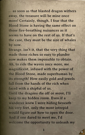 DOS Items Books Pirate Notes Page1