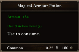 DOS Items Pots Magical Armour Potion 2