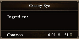 DOS Items CFT Creepy Eye