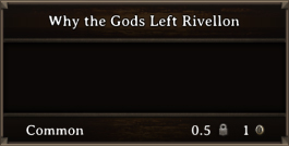 DOS Items Books Why the Gods Left Rivellon