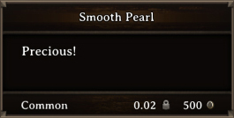 DOS Items Precious Smooth Pearl