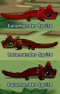 Sprites salamander sprites