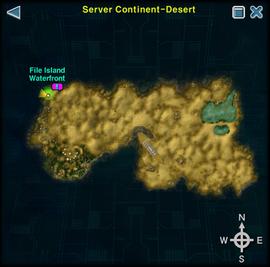 Server Continent-Desert map