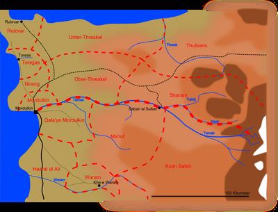 Threskel Provinzen