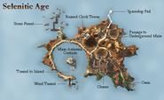 Selenitic ME map