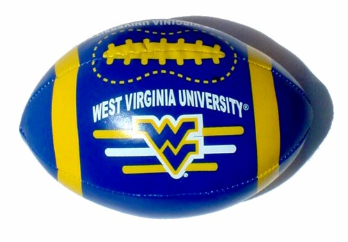 File:West Virginia Mountaineers Vinyl Football.jpg