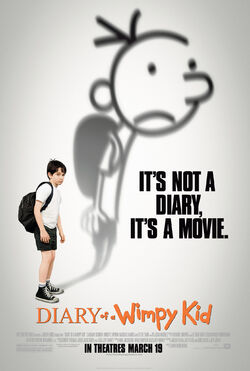 Diary if a Wimpy Kid movie poster