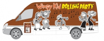 Diary of a Wimpy Kid Rolling Party