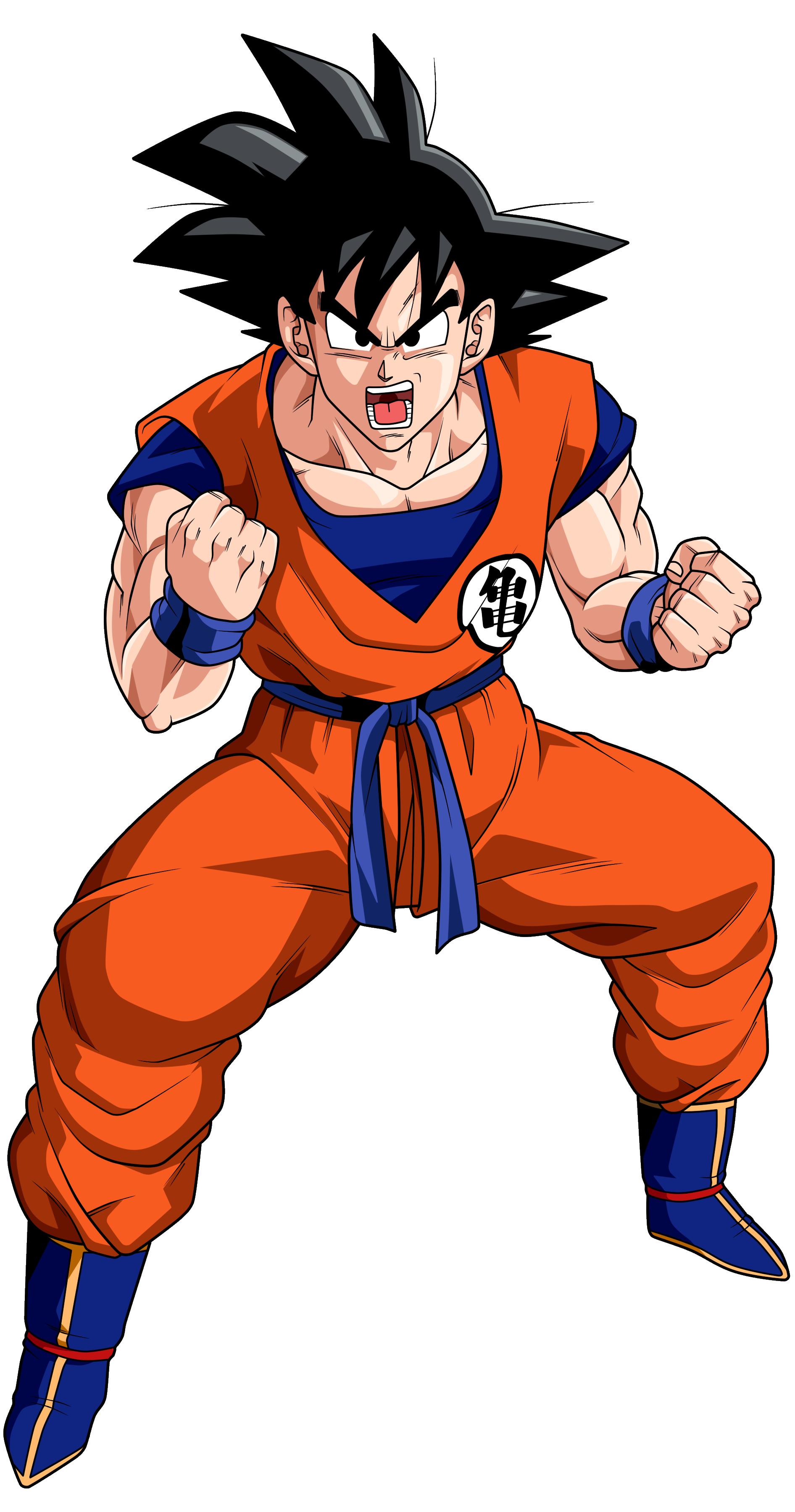Goku doblaje wiki fandom powered by wikia - Dessin manga dragon ball z ...