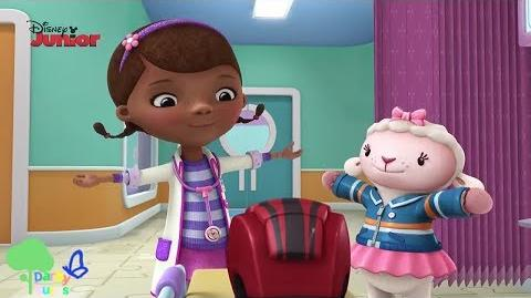 Doc McStuffins Toy Hospital To the Party on Time - Song Music Video
