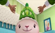 Lambie's Green Tiara