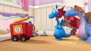 Stuffy, bronty, dragon bot and lenny