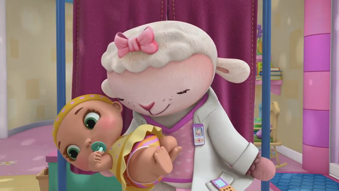 Image Lambie And Baby Lacey Jpg Doc Mcstuffins Wiki