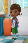 Doc in her St Patrick's Dress