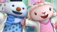 Chilly and lambie singing time for your checkup