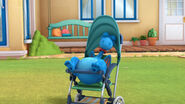 Stuffy in the stroller