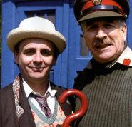 Seventh Doctor Brigadier Lethbridge 8