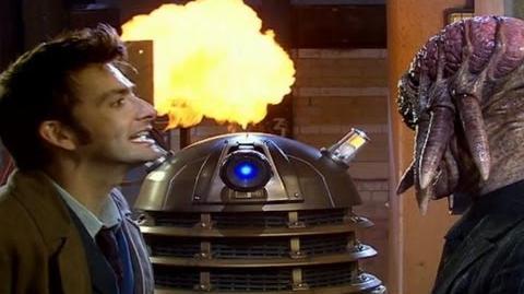 A Dalek with feelings - Evolution of the Daleks