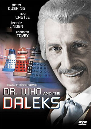 Dr who and the daleks us dvd