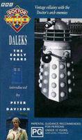 Daleks early years australia vhs