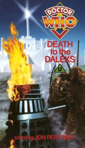 Death to the daleks uk vhs