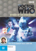 Attack of the cybermen australia dvd