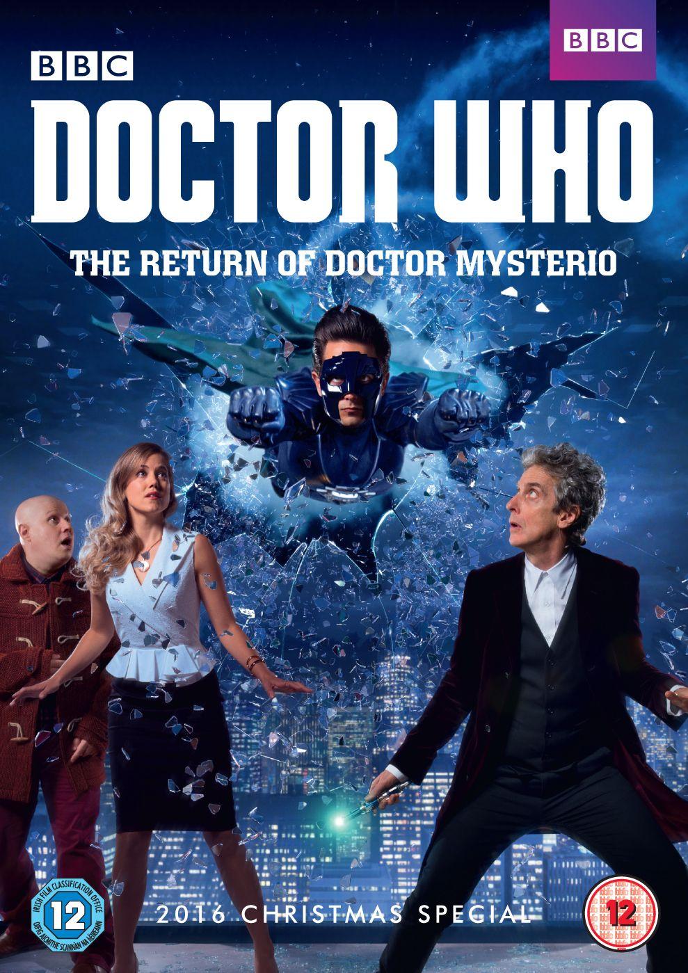 Return of doctor mysterio uk dvd