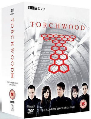 Torchwood complete series one two uk dvd