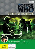 Genesis of the daleks australia dvd
