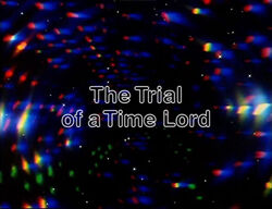 Trial of a time lord