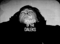 Power of the daleks