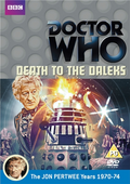 Death to the daleks uk dvd