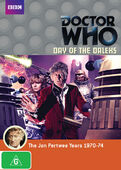 Day of the daleks australia dvd