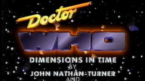 Doctor Who Dimensions In Time - 1993 Children In Need