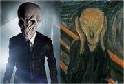 Doctor who the silence looks like the scream