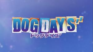 Dog days'' title screen