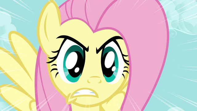File:640px-Fluttershy unleashes the Stare S03E10.png