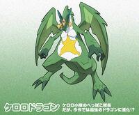 Keroro Dragon by AdmiralHowl