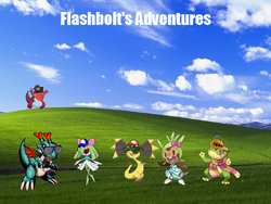 Flashbolt's Adventures Itself!!!