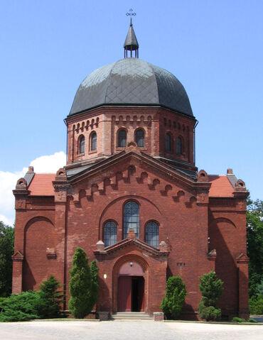 Plik:Cmentarz Grabiszyński Kaplica.jpg