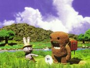 Domo-kun-hates-rabbits