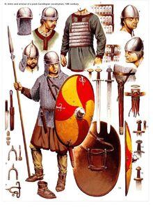 Carolingian cavalryman
