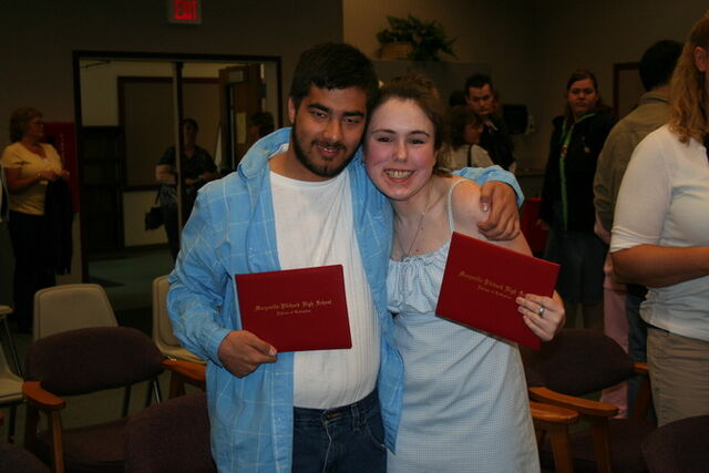 File:Misty and I with our diplomas.jpg