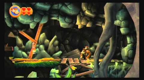 Donkey Kong Country Returns ~ World 1-6 (Crazy Cart) Puzzle Piece K-O-N-G Letters Guide