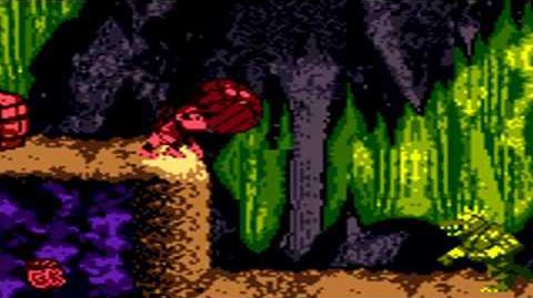 Donkey Kong Country (GBC) - Chimp Caverns - Manic Mincers