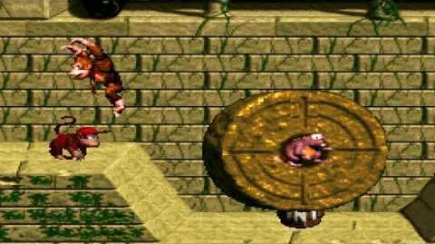 Donkey Kong Country (SNES) - Monkey Mines - Millstone Mayhem