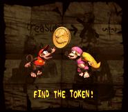 DKC2 Find the Token
