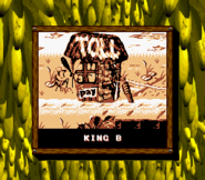 King Zing Credits Screen Japan - Donkey Kong GB 2