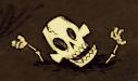 Skeleton sunk